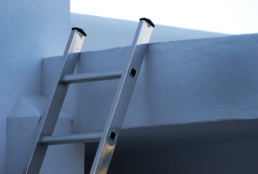 ladder in home